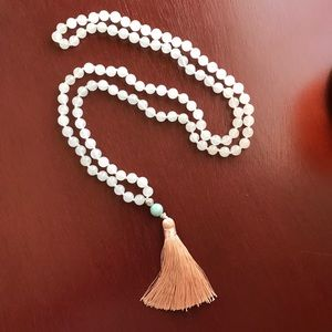 Moonstone mala necklace - divine feminine